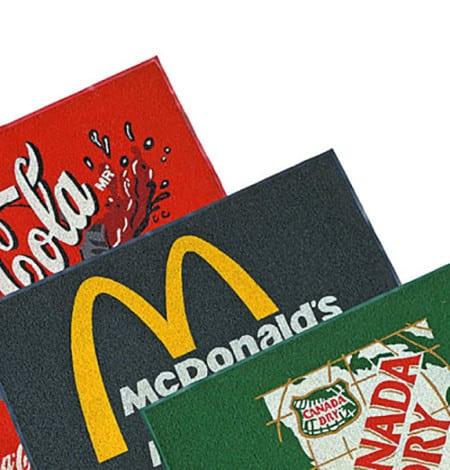 custom promotional mats