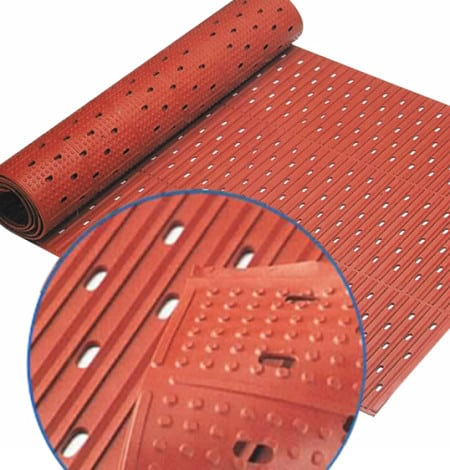 Reversible safety runner mat anti-fatigue kitchen mats