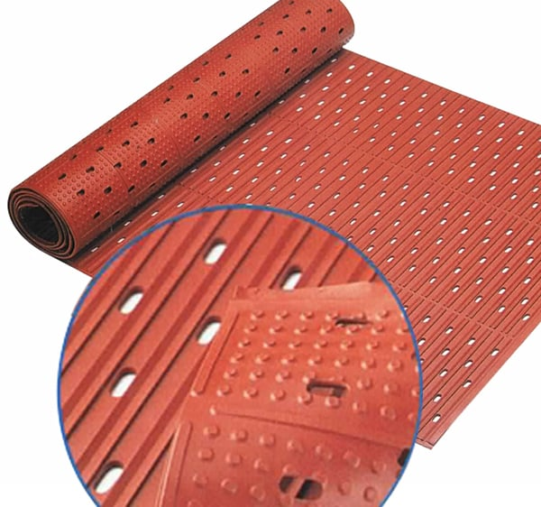 reversible safety runner mat