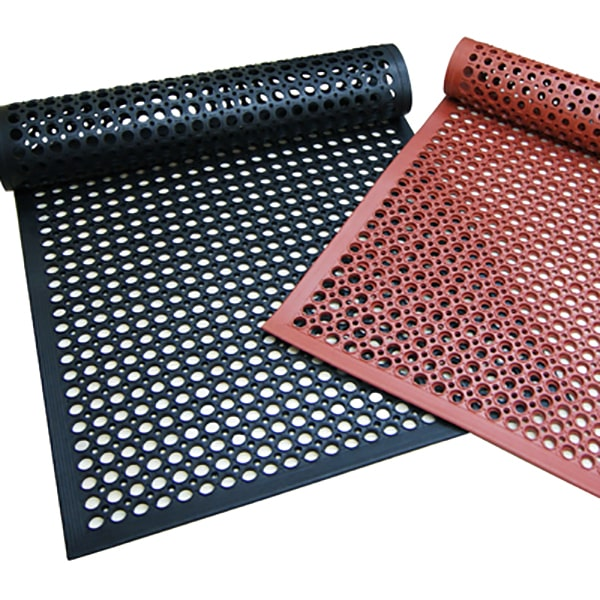 Rubber Kitchen Mats Advantage Lite 3' x 5' x ½""