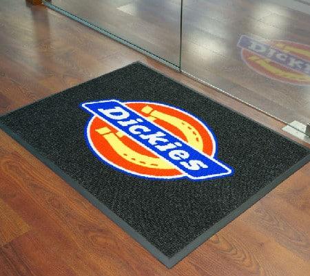 Premium inlay logo mats
