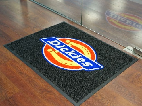 entry logo floor mat for business