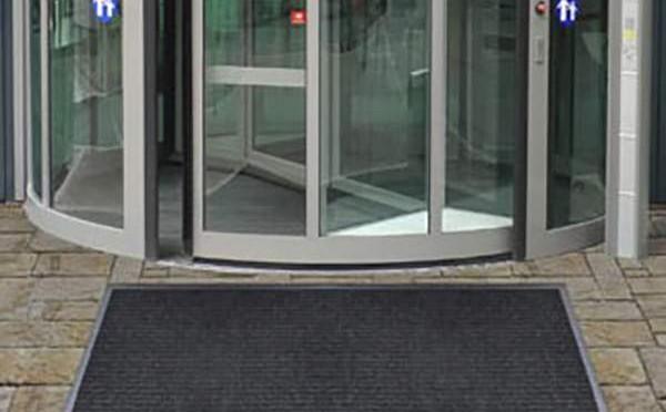 alfombra de entrada para negocios