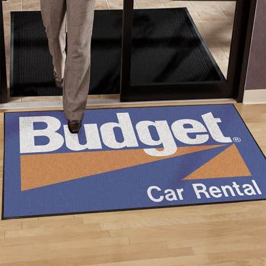 Business Floor Mats with Logo
