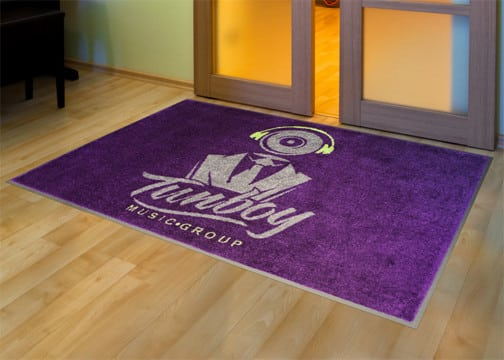Printed Logo Mats entry mat