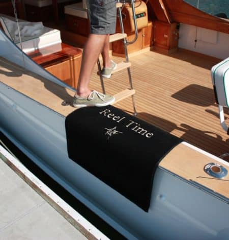 Jet Print Logo Boat Mats