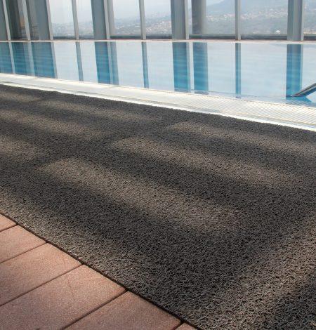 Plain vinyl loop roll swimming pool