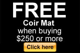 Free Coir Mat Offer